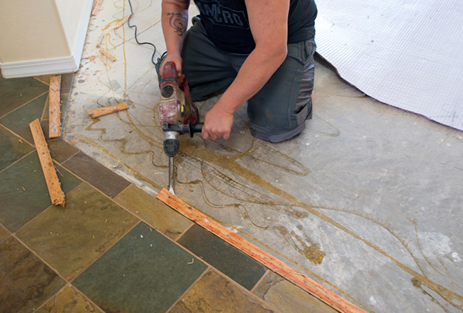 Tile Removal in Scottsdale, AZ
