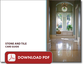 Free Natural Stone Care Guide