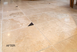 Chiseled Travertine After