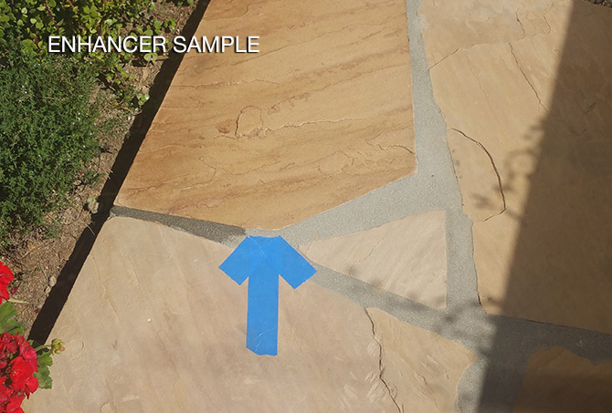 Flagstone Enhancing Sample