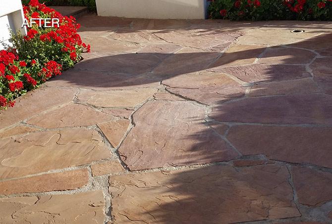 Flagstone Cleaned Phoenix AZ