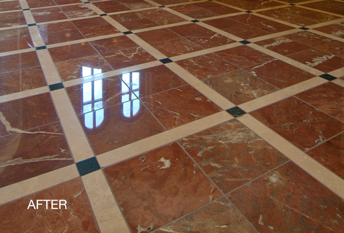 Red Marble Floor : Marble floor polishing beyond stone solutions phoenix