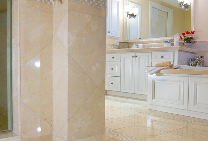 Bathroom Marble Polishing
