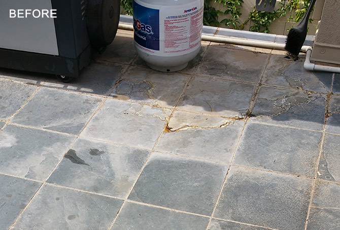Slate Cleaning Sealing And Stain Removal Phoenix Az