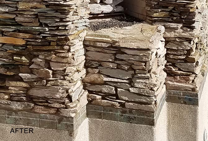 Stacked Stone Replacement