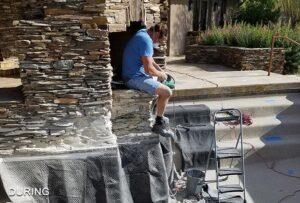 Stacked Stone Restoration