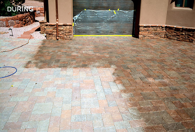 Concrete Pavers Restoration