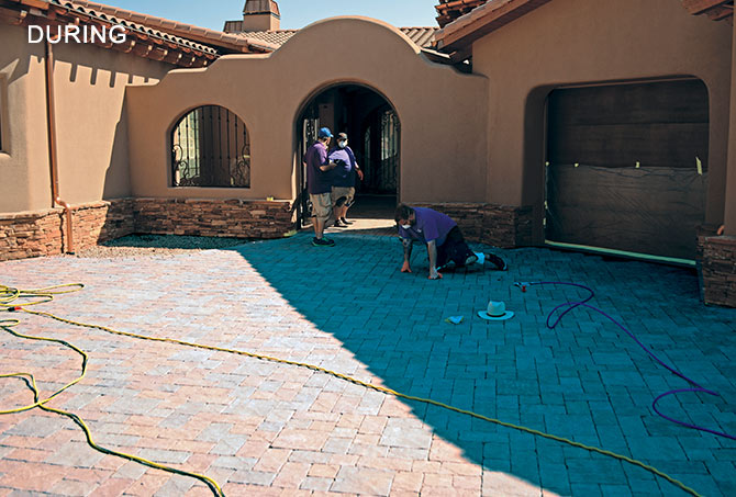 Pavers Stripping