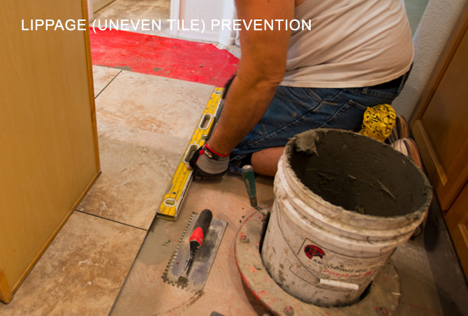 Tile Lippage Prevention