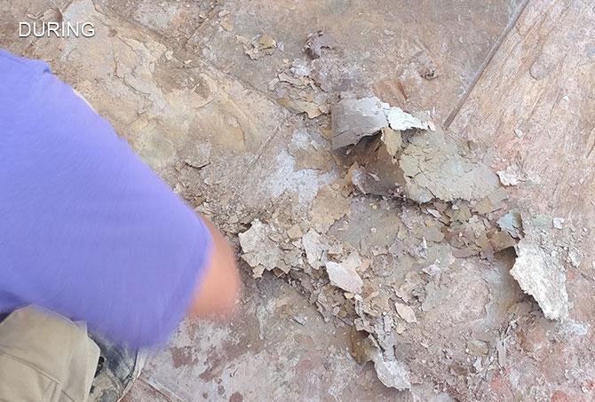 Slate Spalling Repair