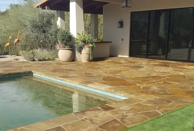 Restored Flagstone Paradise Valley