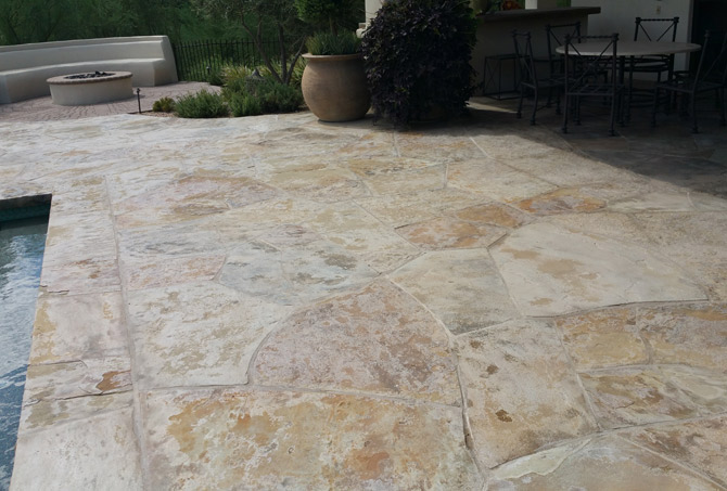 Dirty Flagstone Paradise Valley