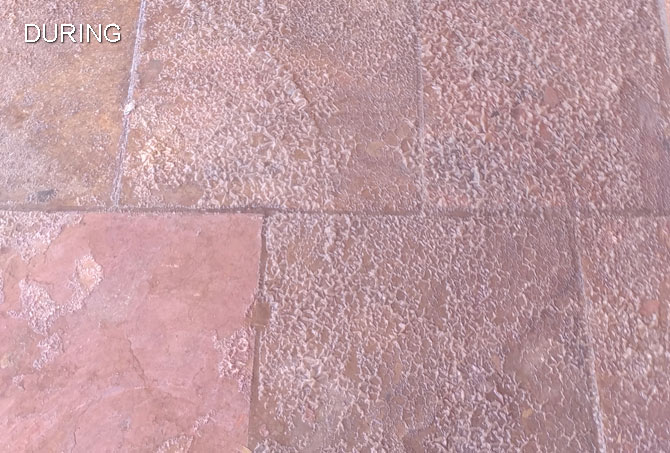 Topical Sealer On Slate