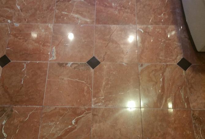 Granite Inlaid Floor Restored