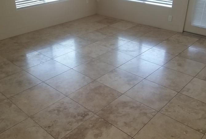 Restoring Travertine