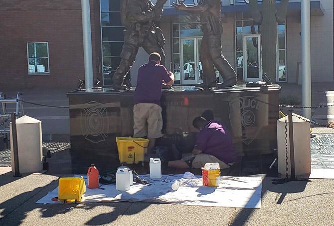 Granite Memorial Repair