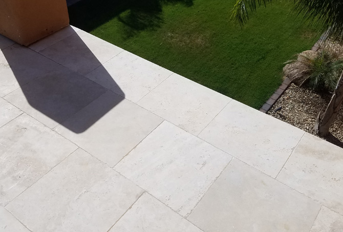 Travertine Rust Stain Removal