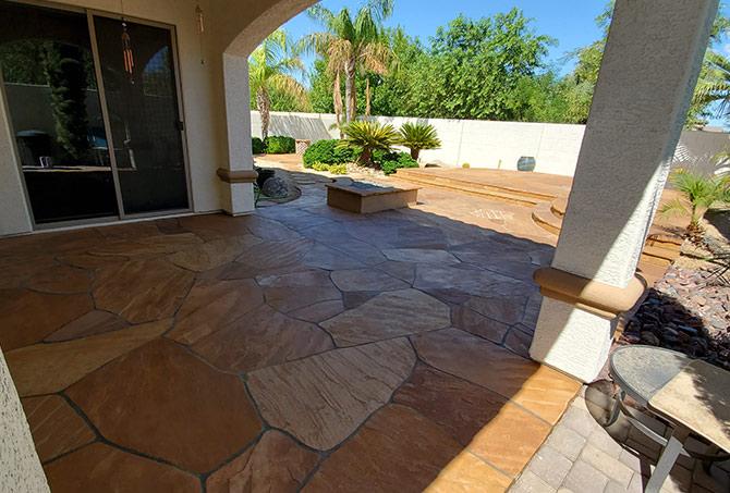 Flagstone Installation Scottsdale AZ
