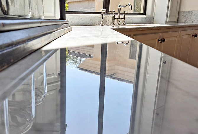 Marble Kitchen Countertops Refinished